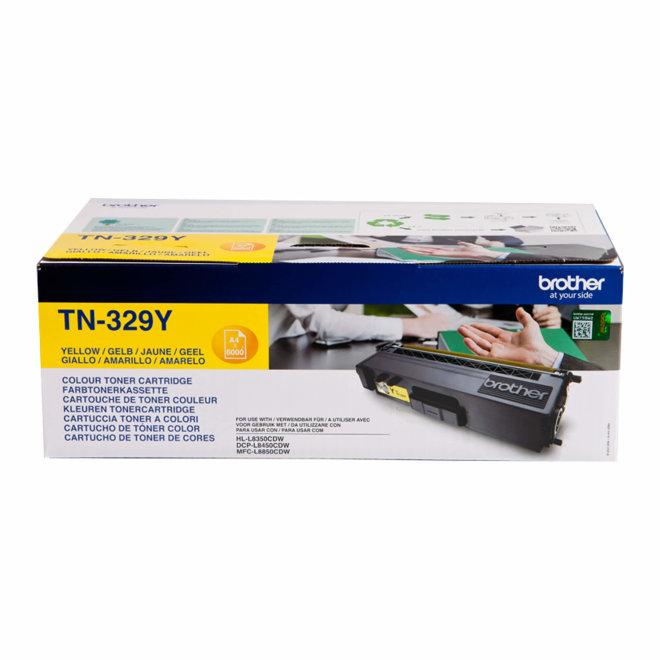 Brother toner TN-329Y, Yellow, cca 6.000 stranica, Original [TN329Y]