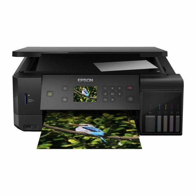 Epson EcoTank L7160, višefunkcijski pisač, tintni ispis u boji, 5 boja, A4 format, WiFi, USB, Ethernet, dupleks [C11CG15402]