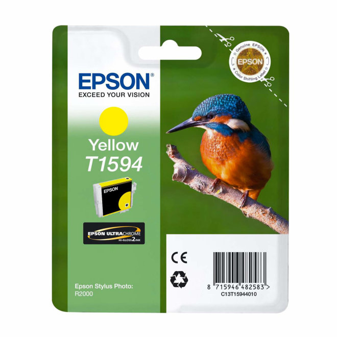 Epson tinta T1594, Yellow, za Epson Stylus Photo R2000, Original [C13T15944010]