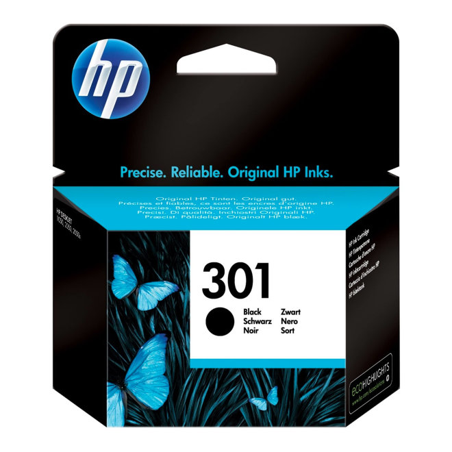 HP 301 Black Original Ink Cartridge [CH561EE]