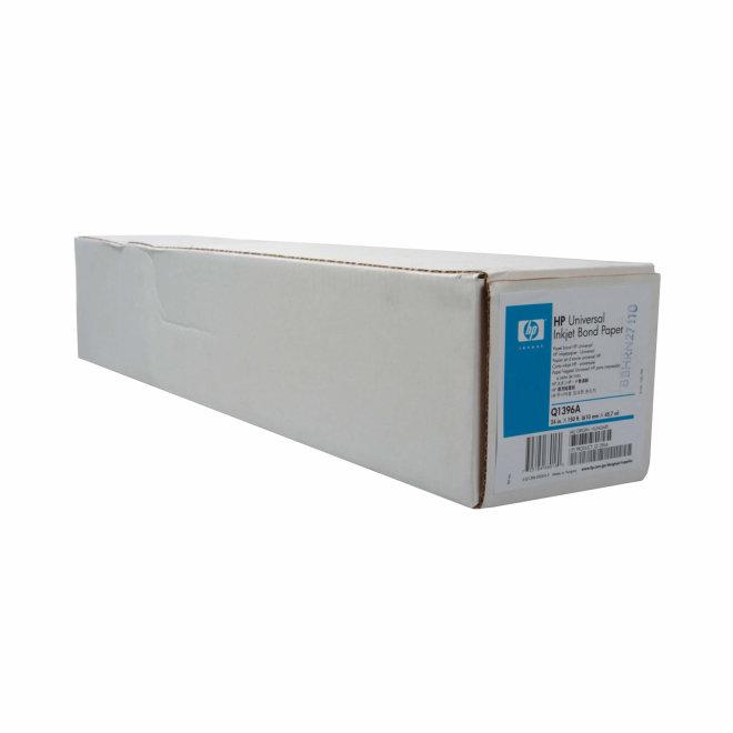 HP Universal Bond Paper, papir u roli za ploter, 610 mm x 45,7 m, 80 g/m², Original [Q1396A]
