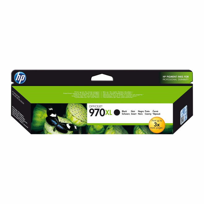 HP 970XL High Yield Black Original Ink Cartridge [CN625AE]
