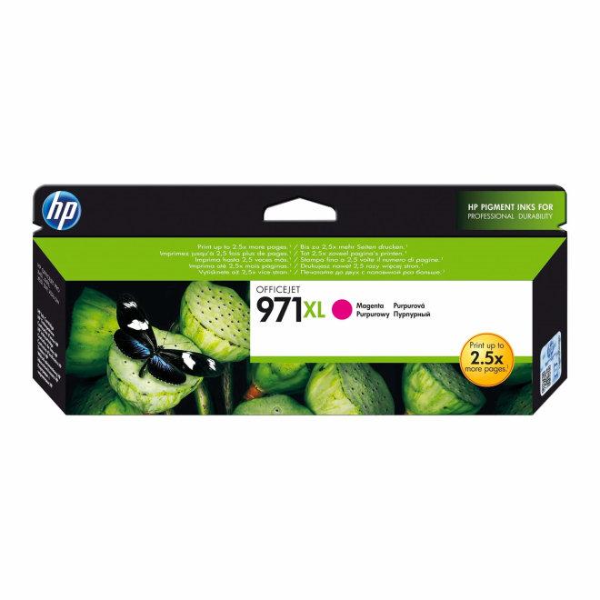 HP 971XL High Yield Magenta Ink Cartridge, tinta, cca 6.600 ispisa, Original [CN627AE]