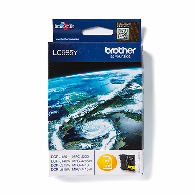 Brother tinta LC985Y, Yellow, cca 260 stranica, Original [LC985Y]