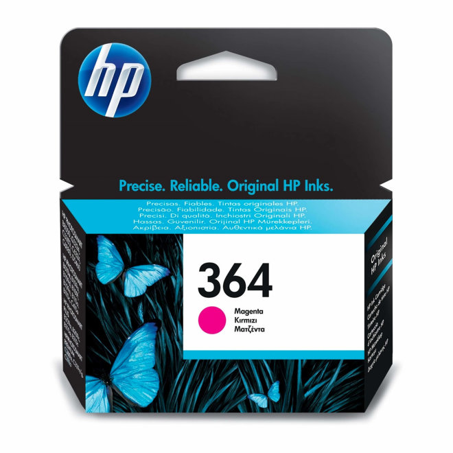 HP 364 Magenta Original Ink Cartridge [CB319EE]