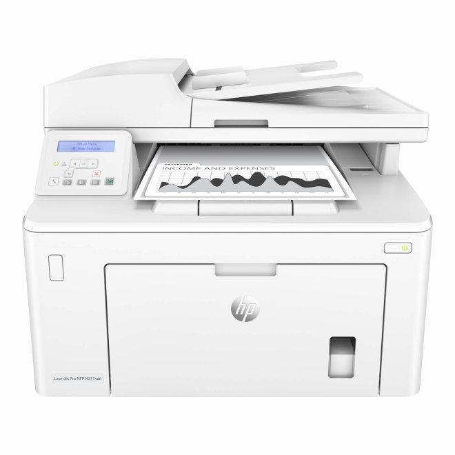 HP LaserJet Pro MFP M227sdn, višefunkcijski pisač, laserski ispis C/B, A4, Ethernet, USB, ADF, Duplex, Apple AirPrint, HP ePrint, 60 – 163 g/m² [G3Q74A#B19]