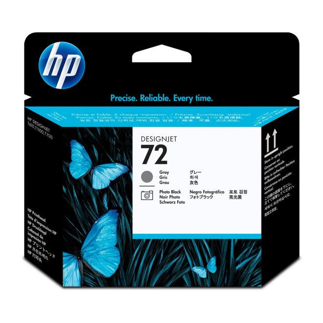 HP 72 Gray and Photo Black DesignJet Original Printhead/Glava [C9380A]
