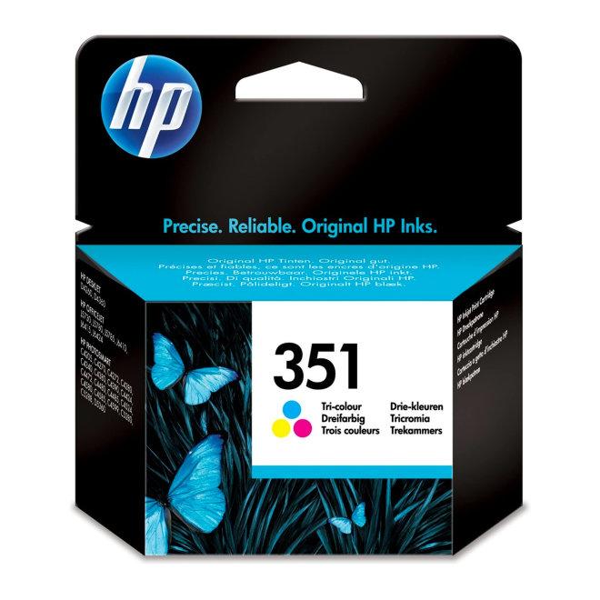 HP 351 Tri-color Original Ink Cartridge [CB337EE#BA3]