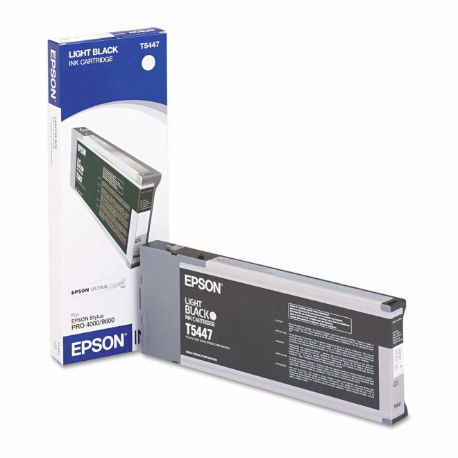 Epson tinta Light Black T544700, 220 ml, za Stylus Pro 9600, Original [C13T544700]