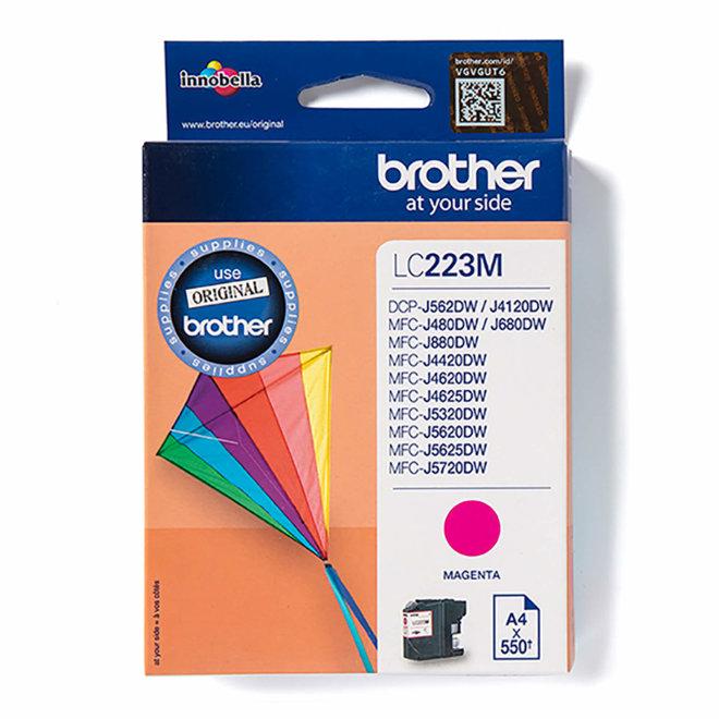Brother tinta LC223M, Magenta, cca 550 stranica, Original [LC223M]