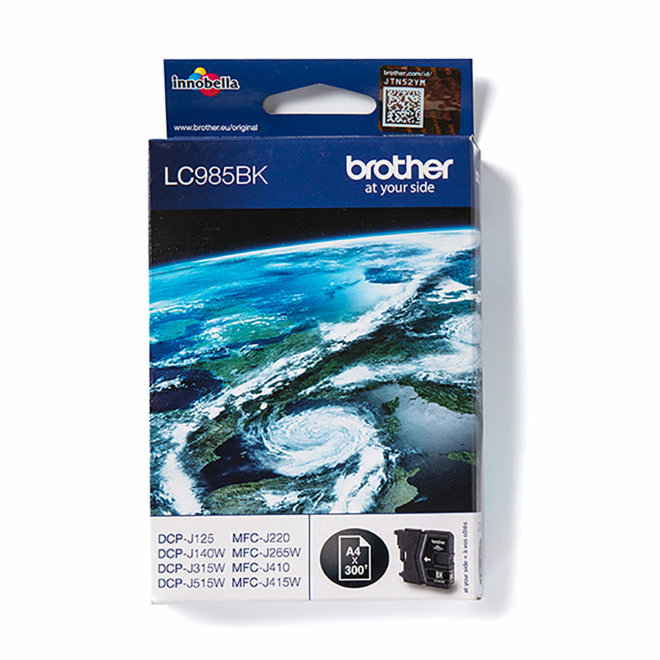 Brother tinta LC985BK, Black, cca 300 stranica, Original [LC985BK]