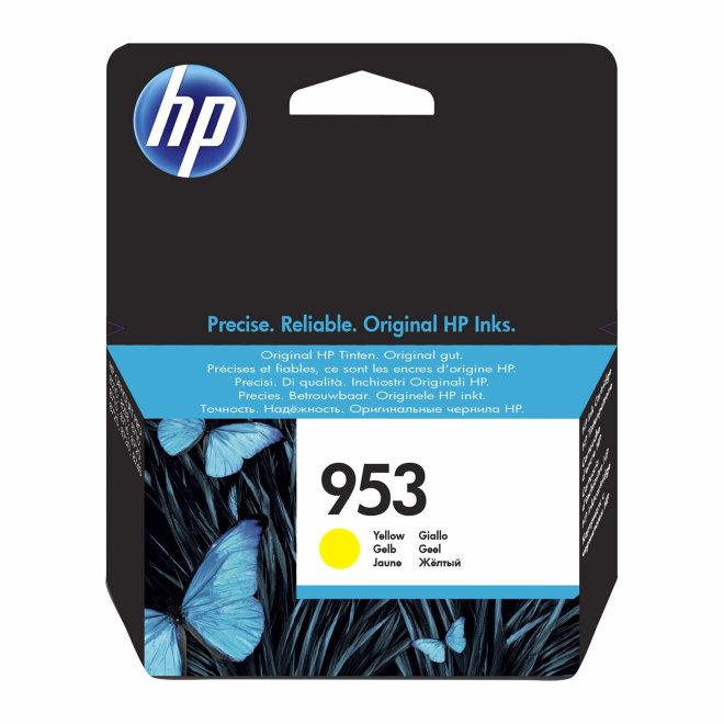 HP 953 Yellow Original Ink Cartridge [F6U14AE]