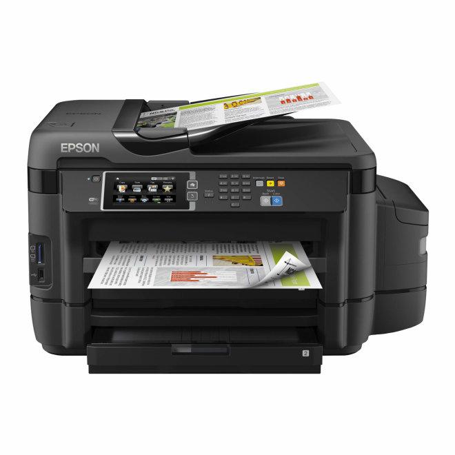 Epson EcoTank L1455, višefunkcijski pisač, tintni ispis u boji, A3 format, WiFi, USB, Ethernet, dupleks, ADF [C11CF49401]