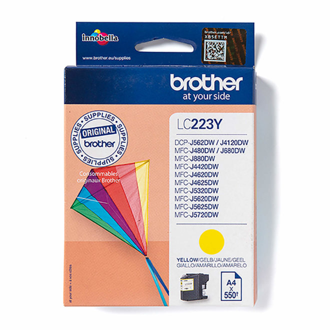 Brother tinta LC223Y, Yellow, cca 550 stranica, Original [LC223Y]