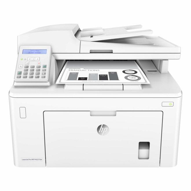 HP LaserJet Pro MFP M227fdn, višefunkcijski pisač, laserski ispis C/B, A4, Ethernet, USB, ADF, Duplex, 60 – 163 g/m² [G3Q79A#B19]