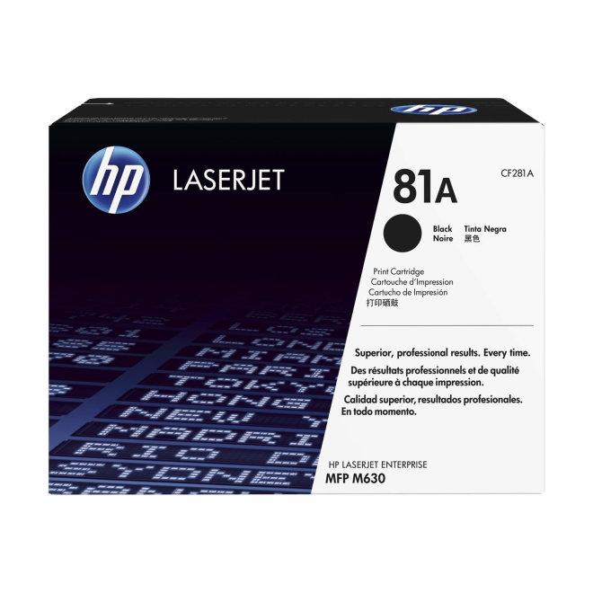 HP 81A Black LaserJet Toner Cartridge, cca 10.500 ispisa, Original [CF281A]