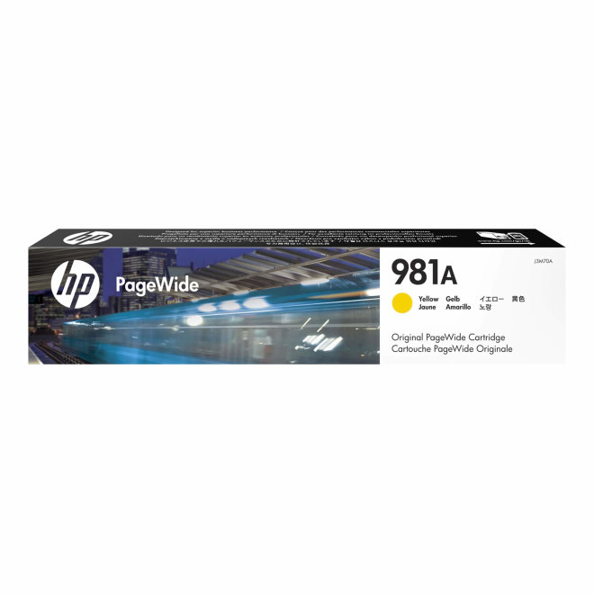 HP 981A Yellow Original PageWide Cartridge, tinta, cca 6.000 ispisa, Original [J3M70A]