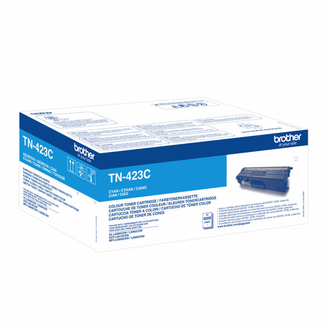 Brother toner TN-423C Cyan, cca 4.000 stranica, Original [TN423C]