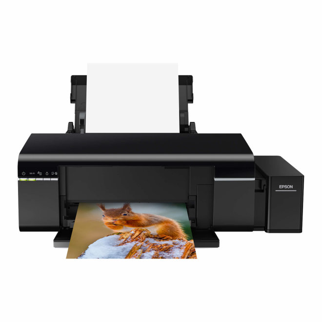 Epson EcoTank L805, foto pisač, tintni ispis u boji, 6 boja, A4 format, WiFi, USB [C11CE86401]