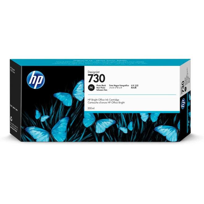HP 730 300-ml Photo Black Ink Cartridge, tinta, Original [P2V73A]