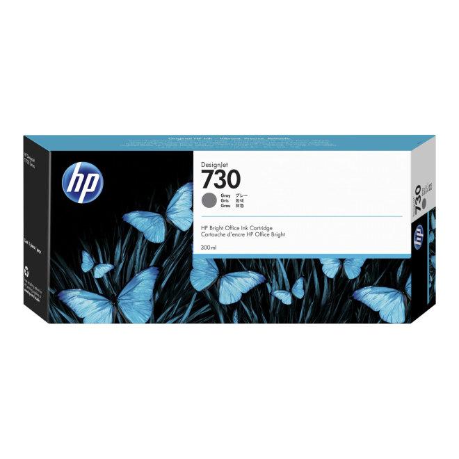 HP 730 300-ml Gray DesignJet Ink Cartridge, tinta, Original [P2V72A]