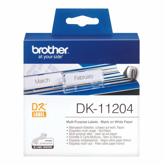 Brother naljepnice DK-11204, rola za označavanje, Original [DK11204]