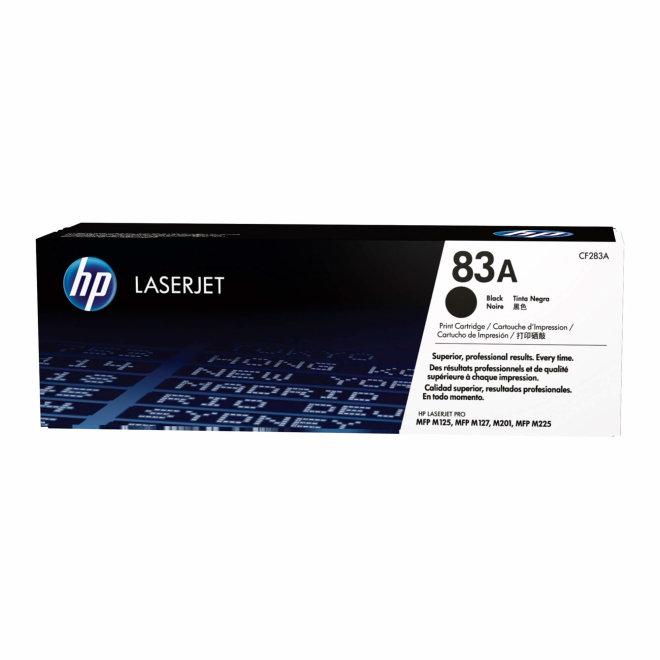 HP 83A Black Original LaserJet Toner Cartridge [CF283A]