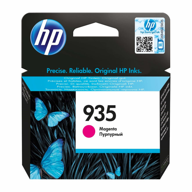 HP 935 Magenta Original Ink Cartridge [C2P21AE]