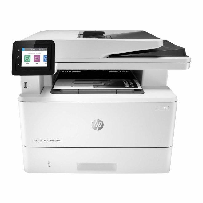 HP LaserJet Pro MFP M428fdn, višefunkcijski, laserski crno-bijeli ispis, A4 format, USB, Ethernet, Dupleks, ADF, Touchscreen [W1A29A#B19]