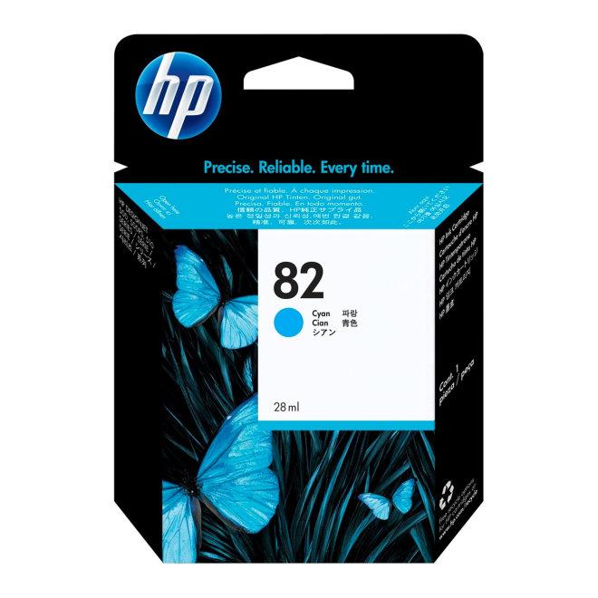 HP 82 69-ml Cyan DesignJet Original Ink Cartridge [C4911A]
