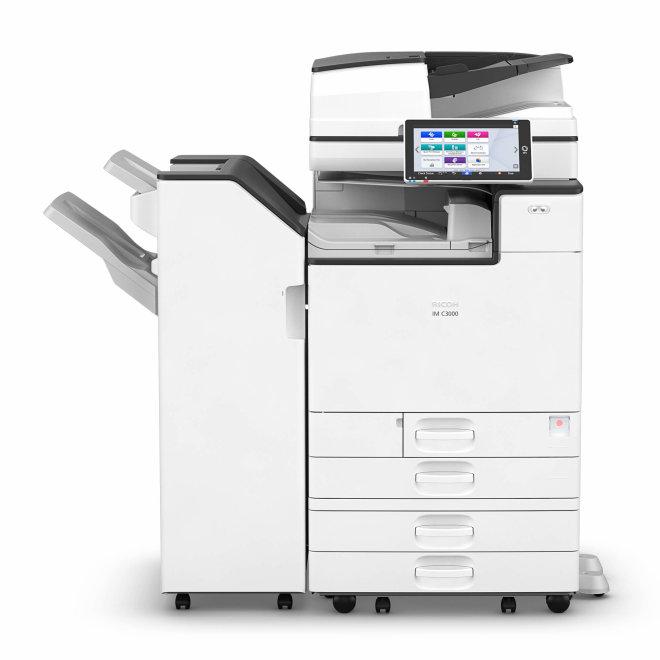 Nashuatec IM C3000, višefunkcijski pisač, laserski ispis u boji, SRA3 format, Ethernet, Dupleks, ADF, Touchscreen [418297]