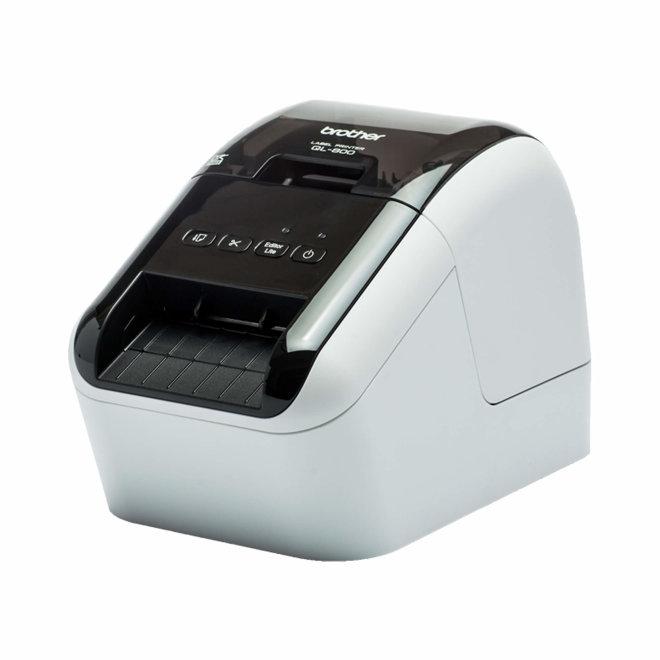 Brother QL-800, pisač za naljepnice, USB, Win/Mac, crni i crveni tekst, rezač [QL800YJ1]