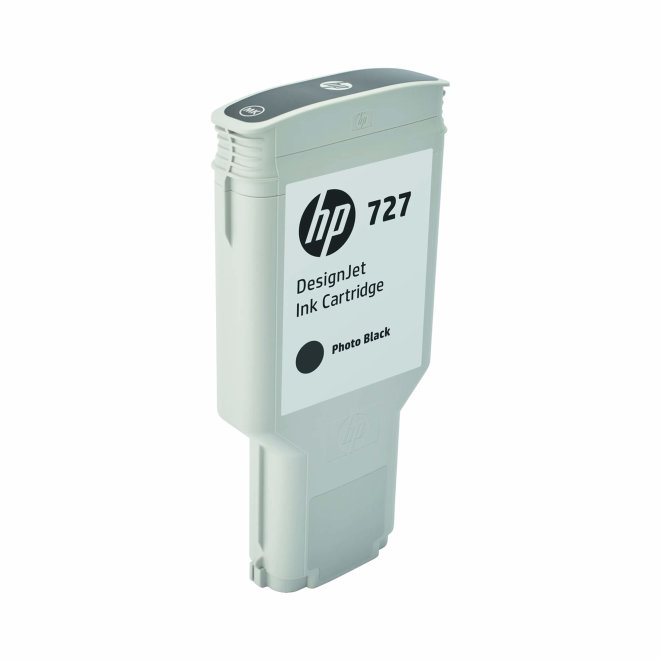 HP 727 300-ml Photo Black DesignJet Ink Cartridge, Original [F9J79A]