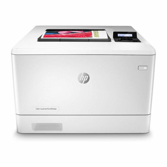 HP Color LaserJet Pro M454dn, jednofunkcijski laserski pisač u boji, A4 format, mreža, dupleks [W1Y44A#B19]