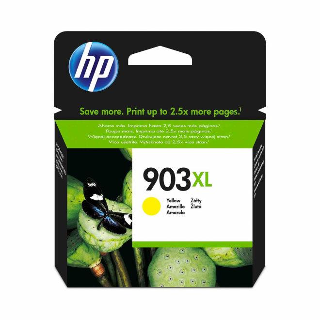 HP 903XL High Yield Yellow Ink Cartridge, tinta, cca 825 ispisa, Original [T6M11AE]
