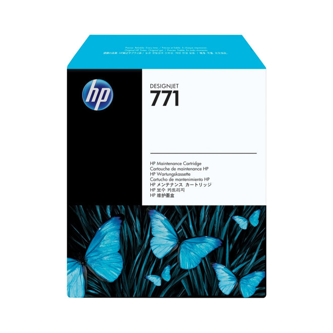 HP 771 DesignJet Maintenance Cartridge, Original [CH644A]