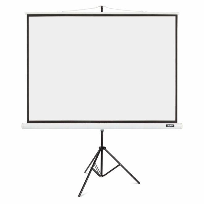 """Acer Samostojeće Platno 87"""", Tripod, 174 x 130 cm, 4:3, White, 8,0 kg [MC.JBG11.00F]"""