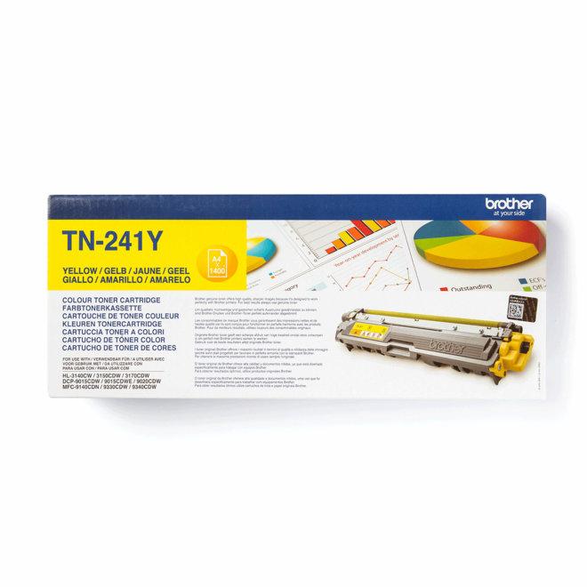 Brother toner TN-241Y, Yellow, cca 1.400 stranica, Original [TN241Y]