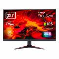 "Acer Nitro VG240Y, LED monitor, 23.8"", 1920 x 1080 Full HD (1080p) @ 75 Hz, IPS, 250 cd/m², 1 ms, 2 x HDMI, VGA, Speakers, Black [UM.QV0EE.001]"