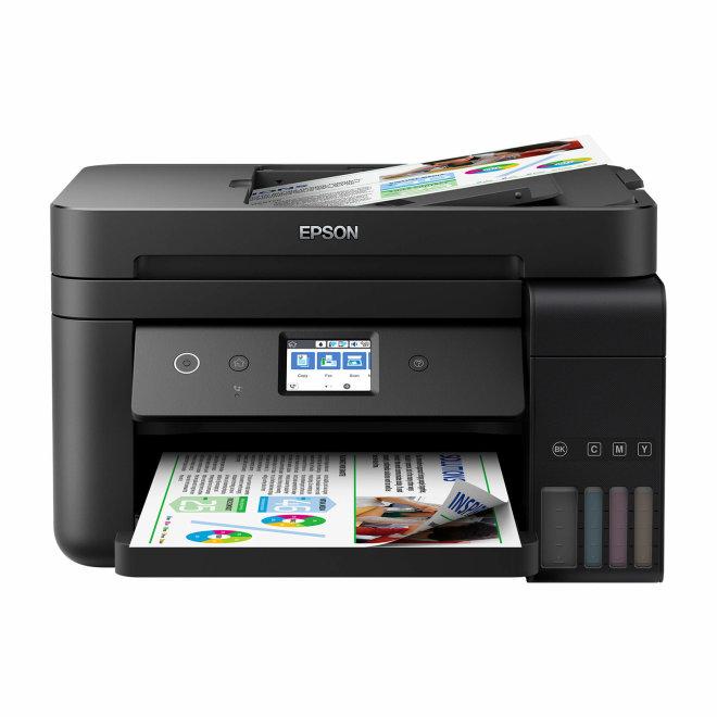 Epson EcoTank L6190, višefunkcijski pisač, tintni ispis u boji, A4 format, WiFi, USB, Ethernet, Dupleks, ADF, Touchscreen [C11CG19402]