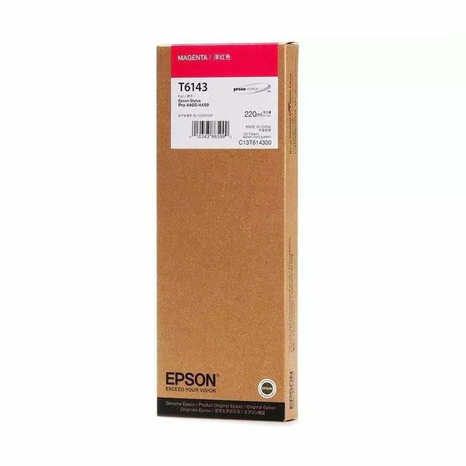 Epson tinta Singlepack Magenta T614300, 220 ml, Original [C13T614300]