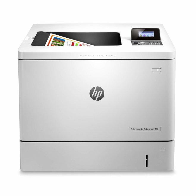 HP Color LaserJet Enterprise M553dn, jednofunkcijski pisač, laserski ispis u boji, A4, Ethernet, USB, Dupleks, 220 g/m² [B5L25A#B19]