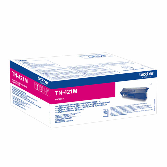 Brother toner TN-421M, Magenta, cca 1.800 stranica, Original [TN421M]