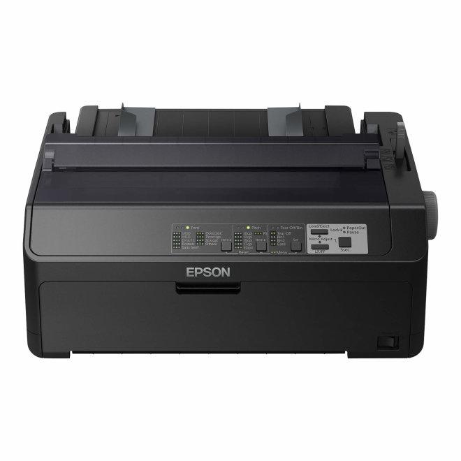 Epson LQ-590II, matrični pisač, 24 iglice, 80 stupaca, jednoslojni i višeslojni listovi, beskrajni papir, naljepnice, papir u rolama, omotnice, USB, Parallel [C11CF39401]