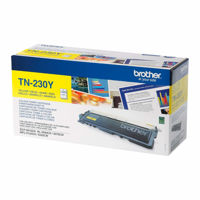 Brother toner TN-230Y, Yellow, cca 1.400 stranica, Original [TN230Y]