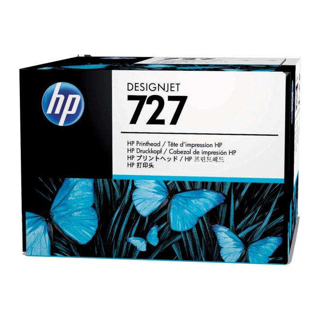 HP 727 DesignJet Printhead/Glava, matte black, photo black, cyan, magenta, yellow, grey, Original [B3P06A]