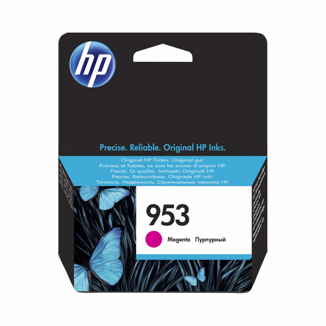 HP 953 Magenta Ink Cartridge, cca 700 ispisa, Original [F6U13AE]