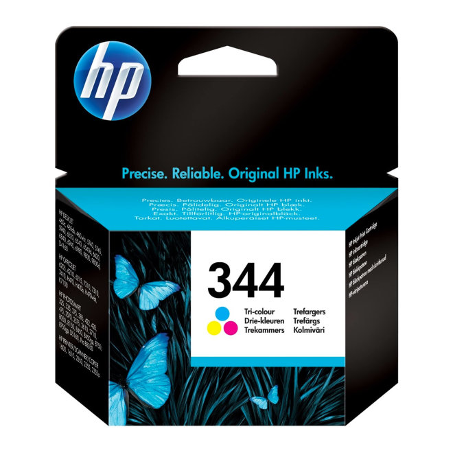 HP 344 Tri-color Original Ink Cartridge [C9363EE#BA3]
