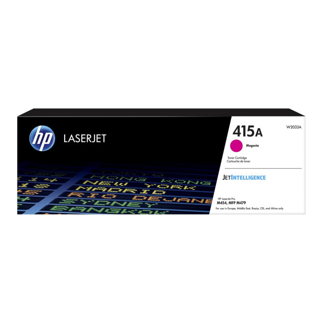 HP 415A Magenta Original LaserJet Toner Cartridge [W2033A]