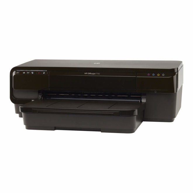 HP Officejet 7110 Wide Format ePrinter, jednofunkcijski pisač, tintni ispis u boji, 4 tinte, A3+ format, WiFi, USB, Ethernet, Duplex, 60 – 250 g/m² [CR768A#A81]